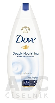 Dove sprchový gél Deeply Nourishing 250 ml