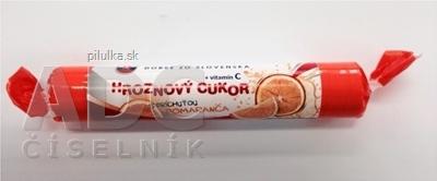 Hroznový cukor príchuť pomaranč 39g