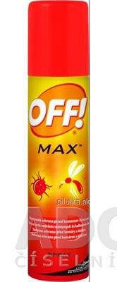 Off Max Spray repelent 100 ml