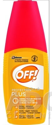Off Protection Plus rozprašovač repelent 100 ml