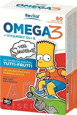 Simpsons OMEGA3+VIT.D3+E 60tbl