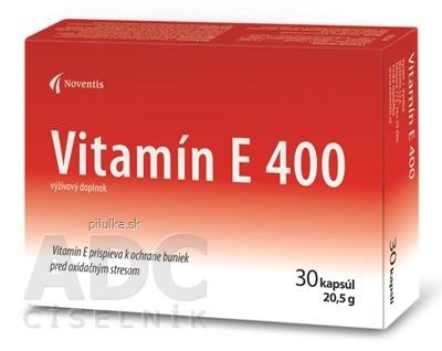 Noventis Vitamín E 400 30cps