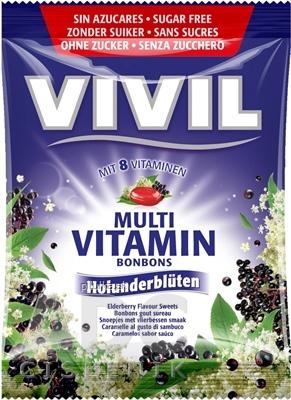 Vivil Multivitamin čierna baza 60g