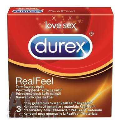 DUREX REAL FEEL NELATEX.KONDOM 3KS