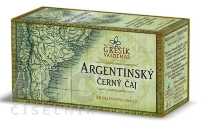 GREŠÍK Argentínsky čierny porcovaný čaj