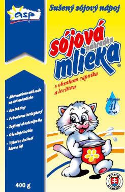 Sójová náhrada mlieka s vápnikom a lecitínom 400g