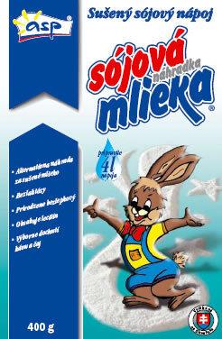 Sójová náhrada mlieka 400g