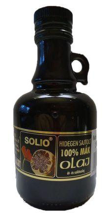 SOLIO makový olej za studena lisovaný olej 1x250 ml