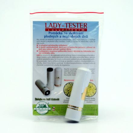Lady Tester test plodnosti s osvetlením 1ks