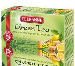 Teekanne Green Tea Zázvor,citrón 20x1,75g