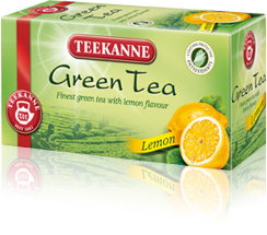 Teekanne Green tea Lemon 20x1.75g
