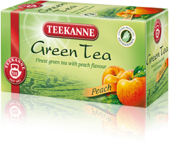 Teekanne Green tea Peach 20x1.75g