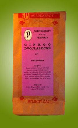 Čaj ginkgo dvojlaločné - list sypaný