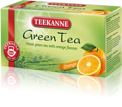 Teekanne Green Tea Orange 20x1,75g