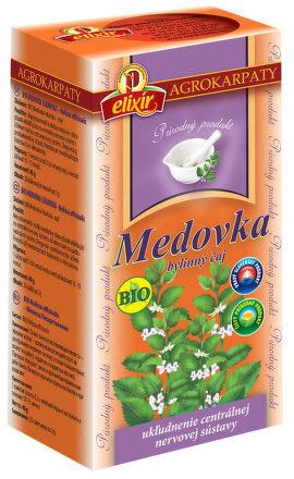 Čaj Medovka lekárska BIO porciovanýE