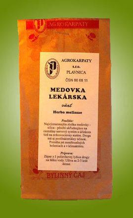 Čaj Medovka lekárska - vňať sypaný 30g