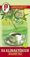 Čaj na klimaktérium porciovaný