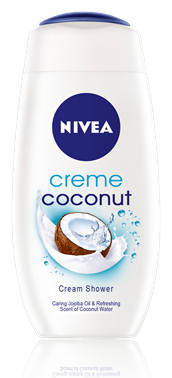 Nivea sprchový gél Coconut Creme 250ml