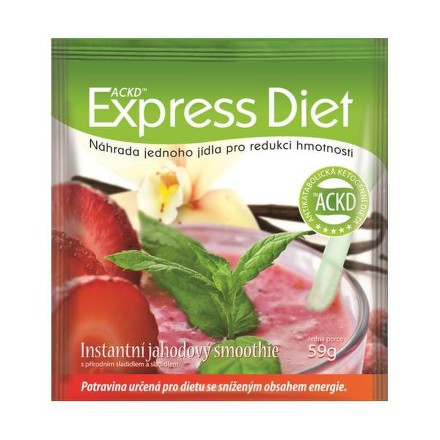 EXPRESS DIET jahodový smoothie 59g