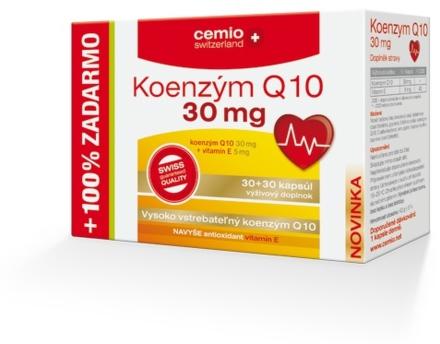 Cemio Koenzým Q10 s biotínom 30mg 60cps