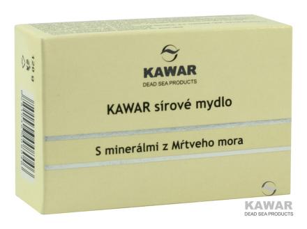 Kawar Sírové mydlo 120g