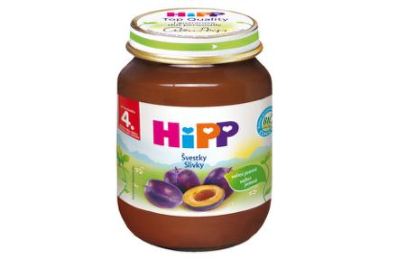 HiPP BIO Slivky 125g