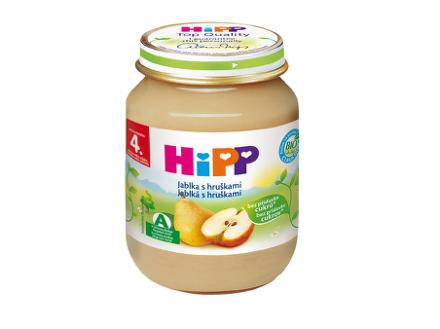 HiPP BIO Jablká s hruškami 125g