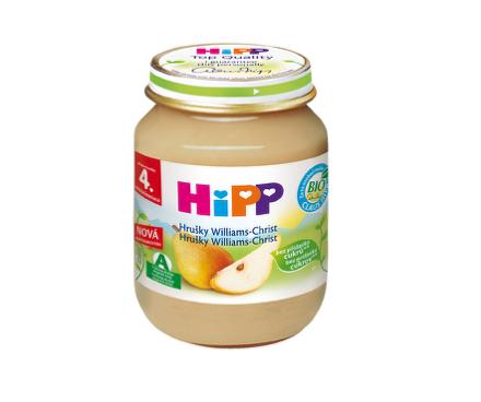 HiPP Ovocný príkrm hrušky Wiliams-Christ 125g