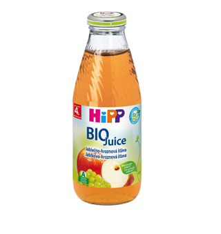 HiPP BIO Jablkovo-hroznová šťava 200ml