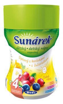 Sunárek rozpustný nápoj šípky, čučoriedka 200g