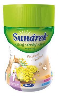 Sunárek rozpustný nápoj feniklový 200g