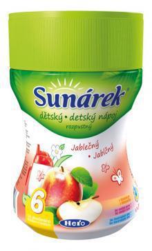 Sunárek rozpustný nápoj jablčný 200g