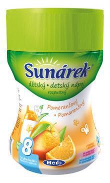 Sunárek rozpustný nápoj pomarančový 200g