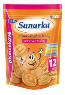 Sunarka písmenkové sušienky 150g