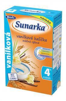Sunarka Vanilková kašička mliečna ryžová 225g