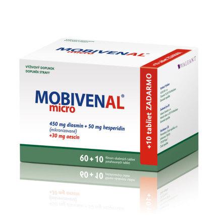 MOBIVENAL MICRO TBL 60+10 ZDARMA