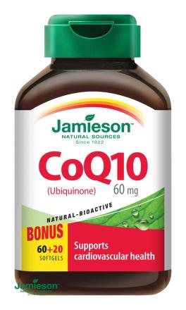 Jamieson Koenzým Q10 60 mg 80cps
