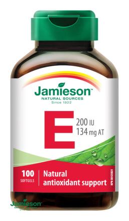 Jamieson Vitamín E 200 IU 100 cps