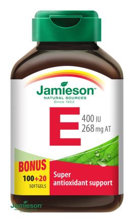 Jamieson Vitamín E 400 IU 120cps