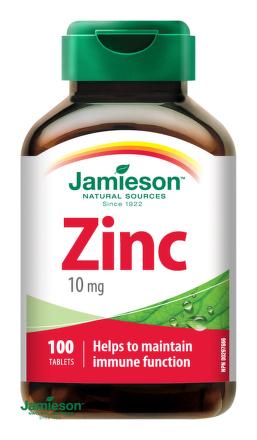 Jamieson Zinok 10 mg 100tbl
