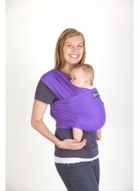 Boba Wrap -nosič detí šatka - vzor purple