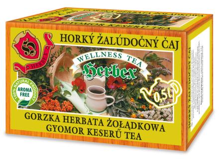 HERBEX Žalúdočný horký čaj 20x3g nálev.sáčky
