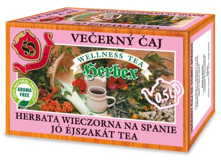 HERBEX Večerný čaj Dobrý spánok 20x3g nálev.sáčky