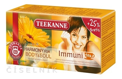 Teekanne čaj Harmony immuni
