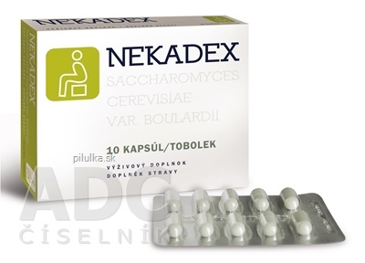 Nekadex 10 ks