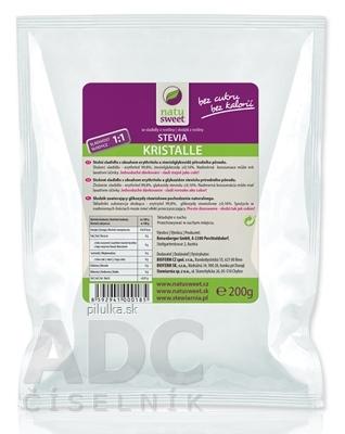 Natusweet stevia kryštál 1:1 200 g