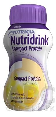 Nutridrink Compact  Proteín vanilka 24x125 ml