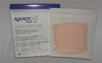 ConvaTec Ltd. Aquacel AG foam ADH.17,5X17,5cm 10ks