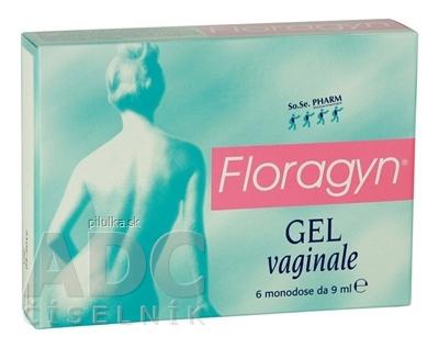 Floragyn vaginálny zvlhčujúci gél 6x9 ml