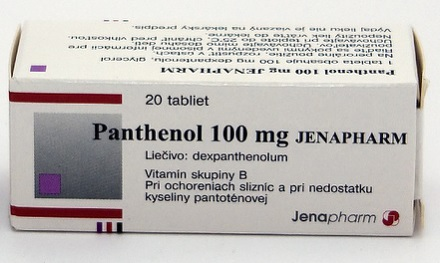 PANTHENOL TBL 20X100MG